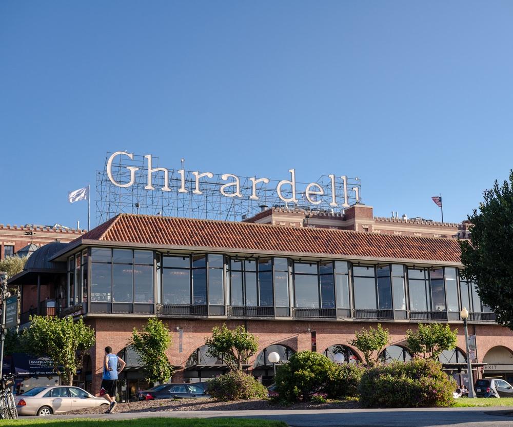 Ghirardelli Square.