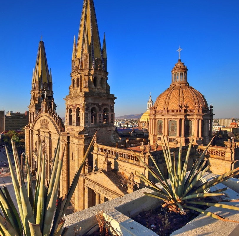 Guadalajara Mexico Cathedral