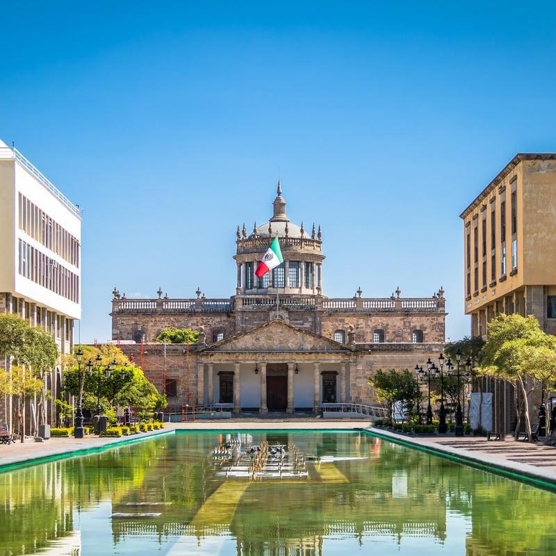 Hospicio Cabañas in Guadalajara Mexico