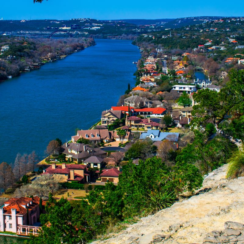 View of Austin from Mount Bonnell