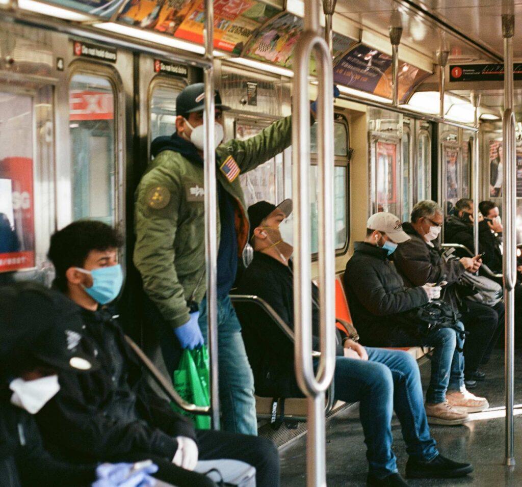 NYC Subway Covid