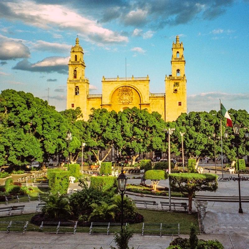Plaza Grande, Merida, Yucatan, Mexico