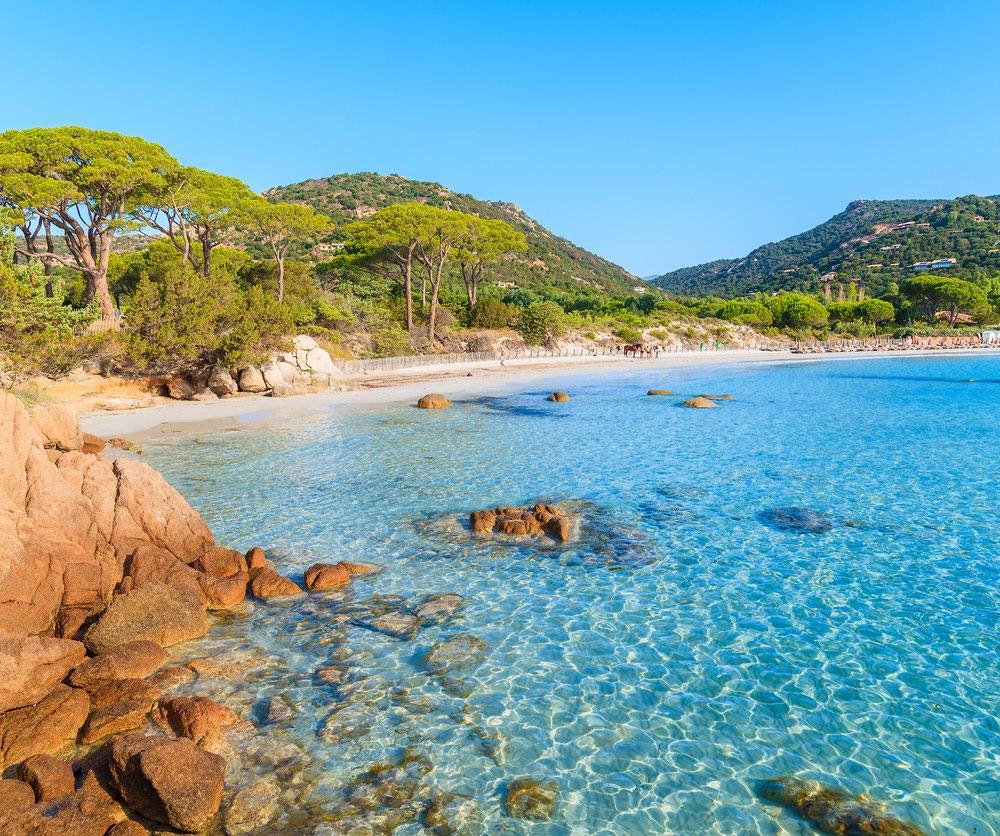 Palombaggia, Corsica, France