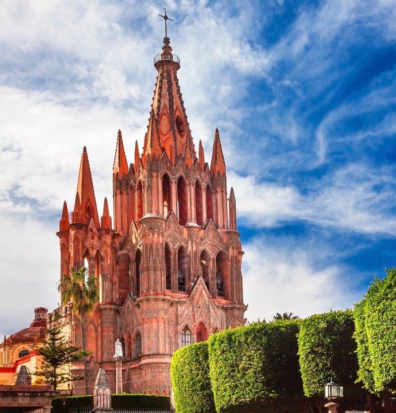 Parroquia de San Miguel de Allende, Mexico