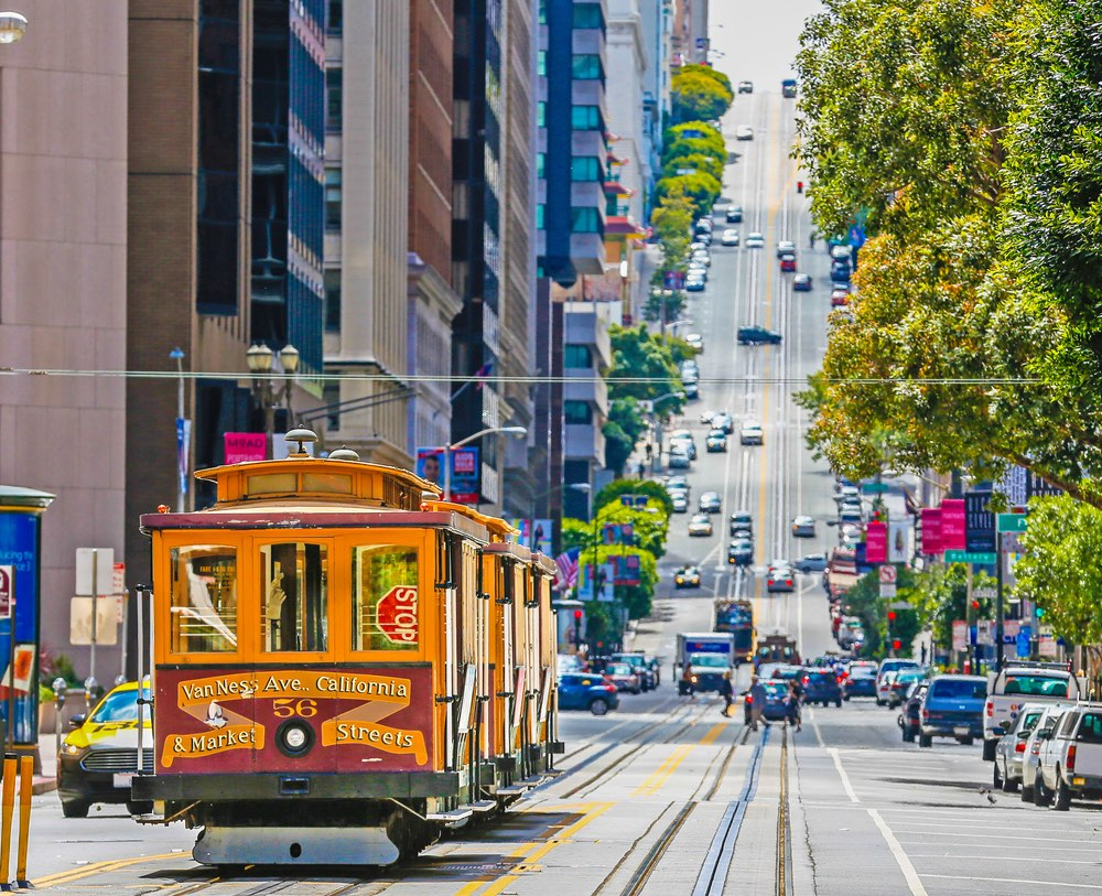 SF cable car.