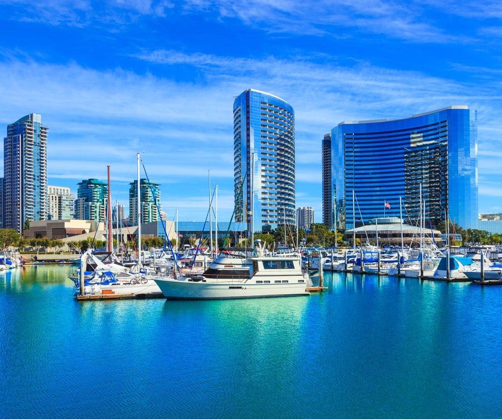 San Diego bay.