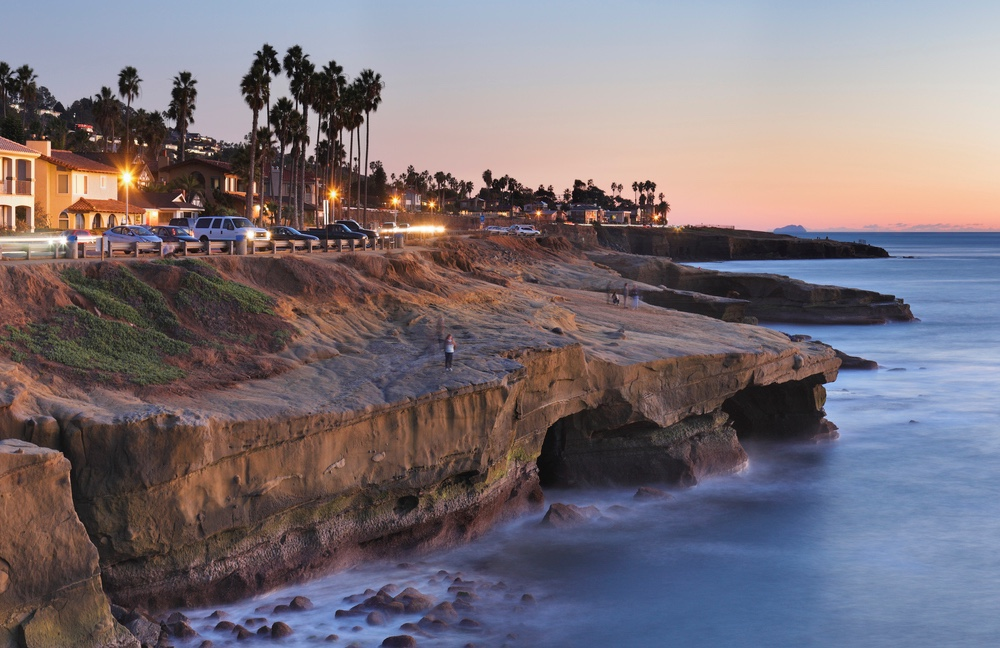 Sunset Cliffs.