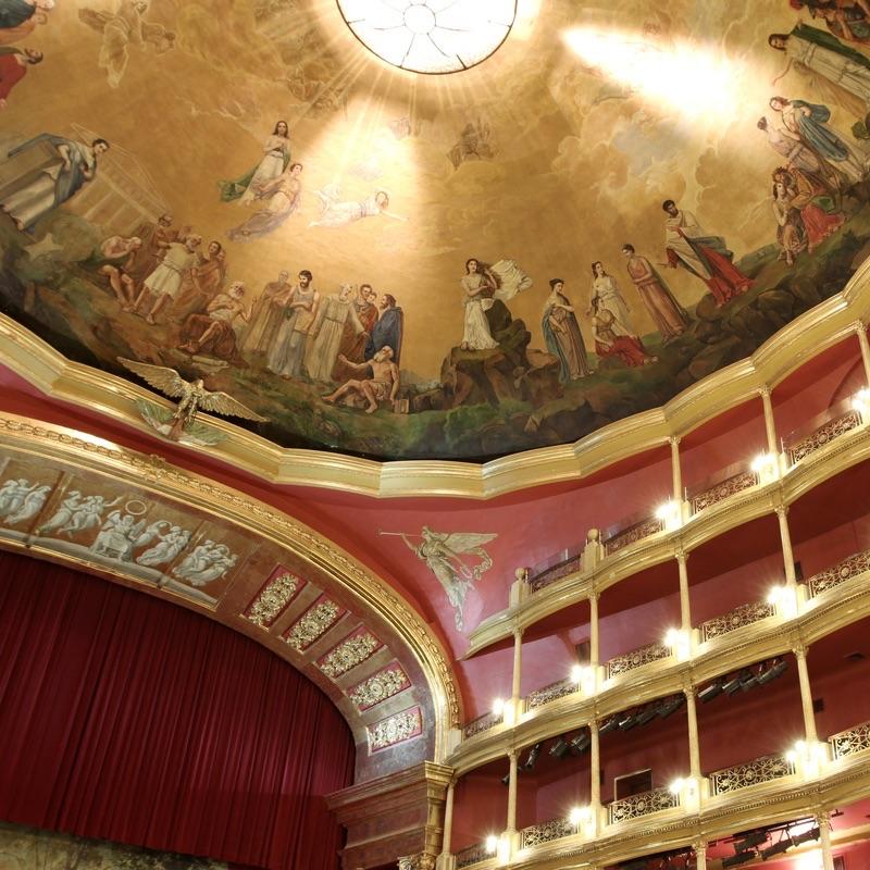 Teatro Degollado in Guadalajara, Mexico