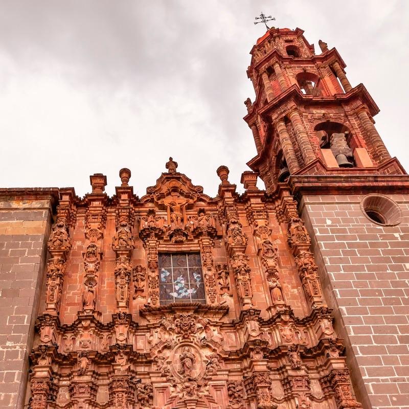 Templo de San Frnacisco, Sam Miguel de Allende, Mexico