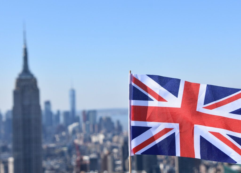 UK Flag in NYC