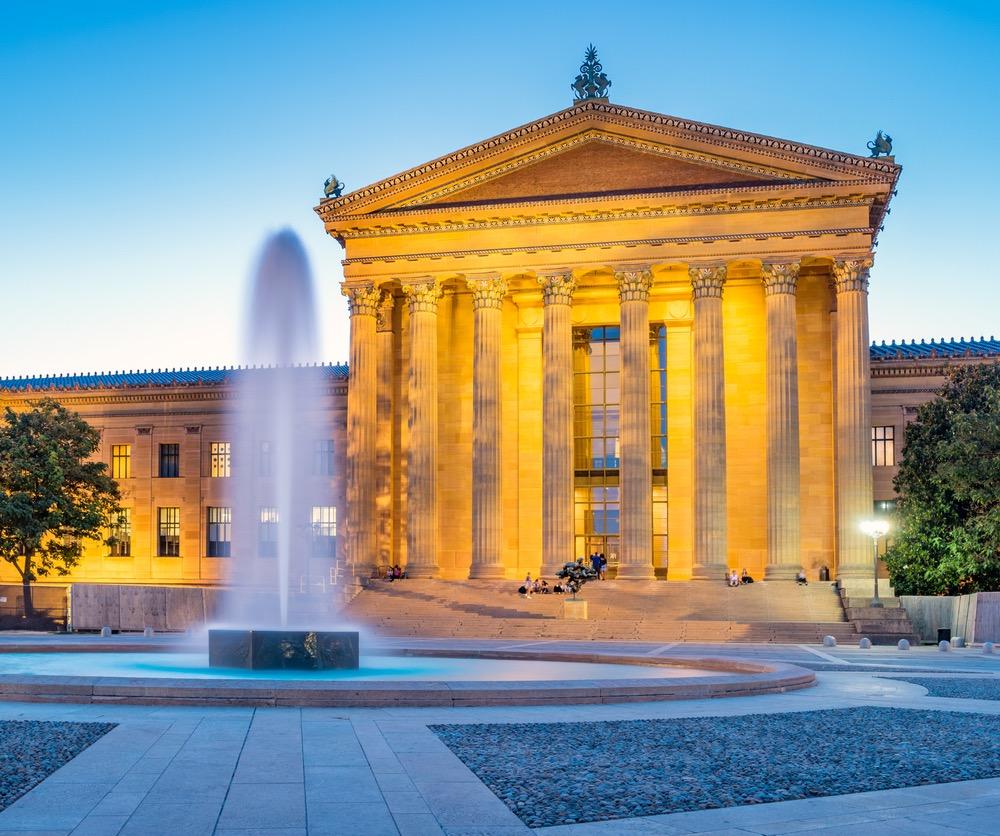 philadelphia museum of art.