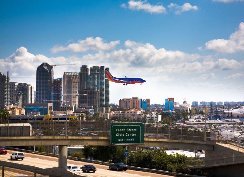 southwest airlines landing