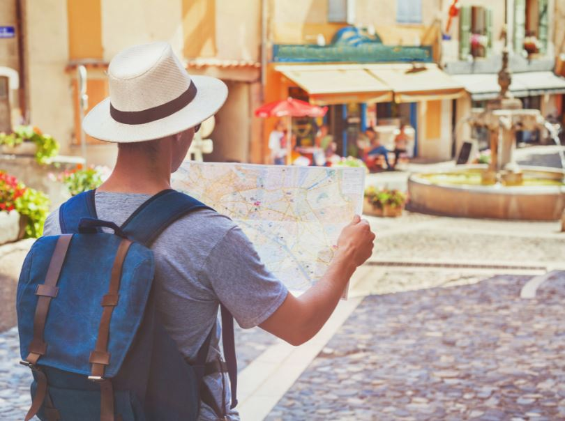 traveler in europe