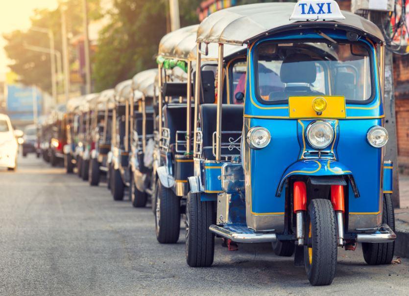 tuktuk tuk tuks thailand