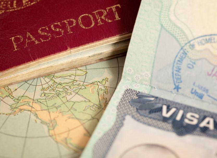 uk passport map visa