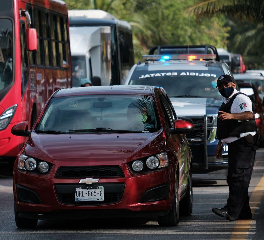 Cancun road closures