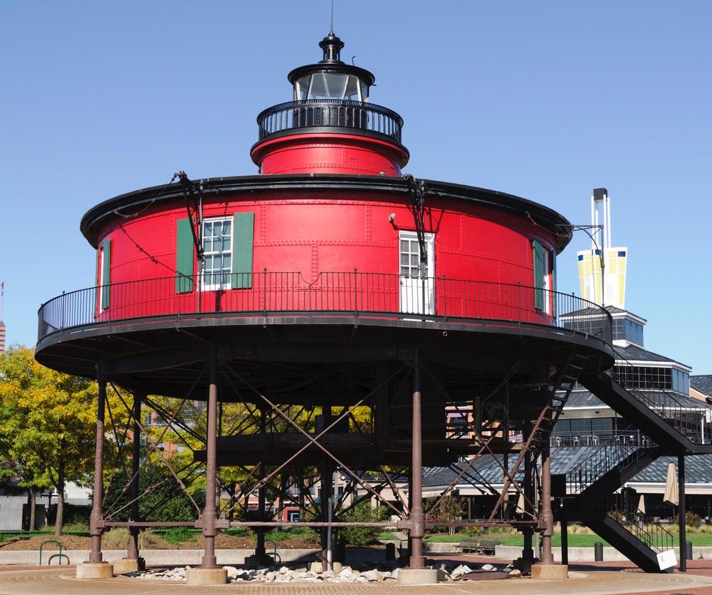 Inner Harbor Lighhouse.