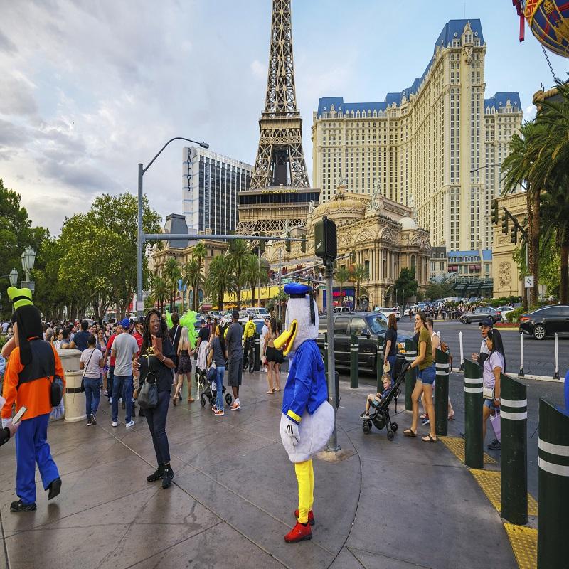 Las Vegas during COVID-19