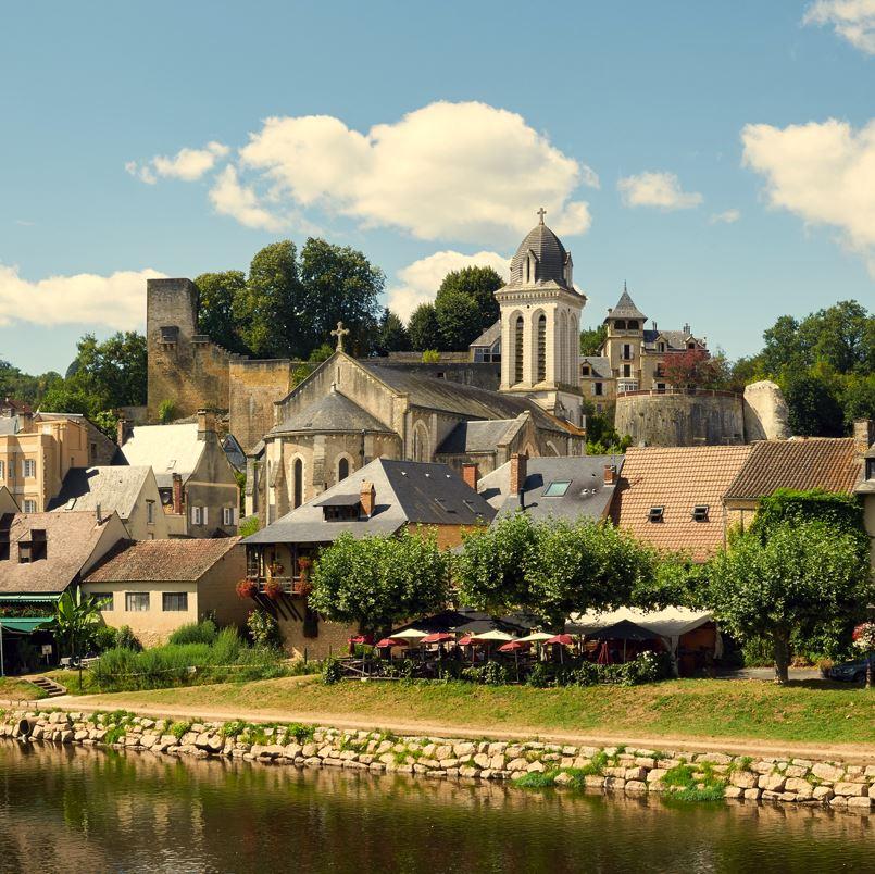 Montignac village France