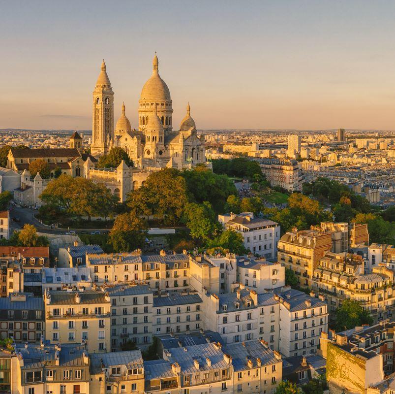 Montmartre and Sacre Coeur, Paris