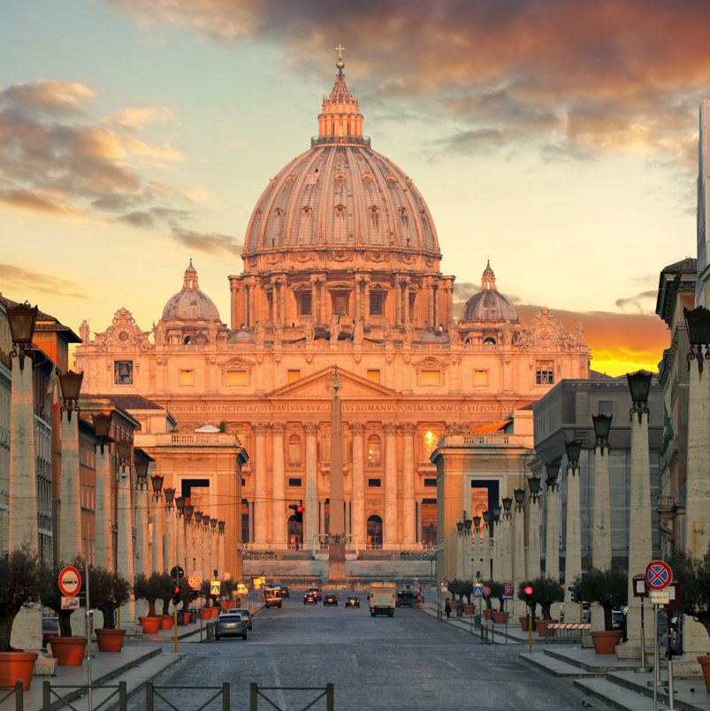 Vatican and St Peters Basilica