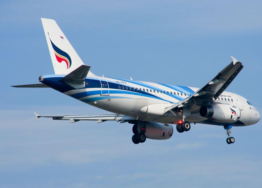 bangkok airways flight thailand