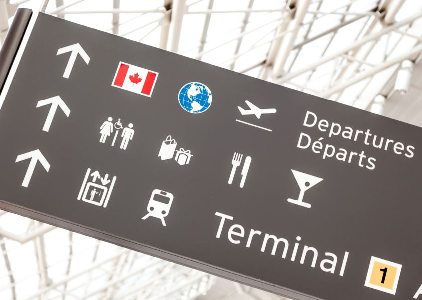 canada departures
