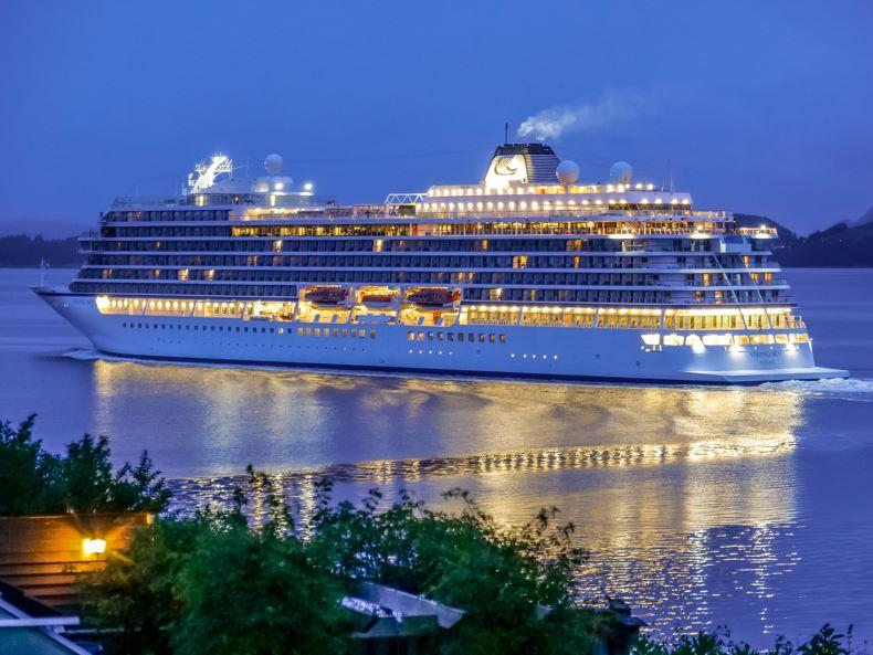 cruise ship norway