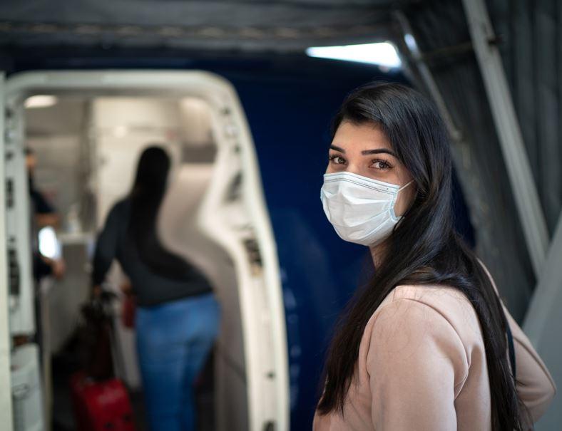 flight mask boarding