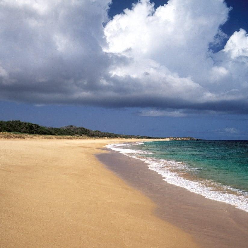 Hawaii Molokai, Papohaku Beach