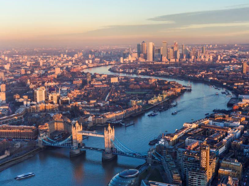 london panoramic aerial
