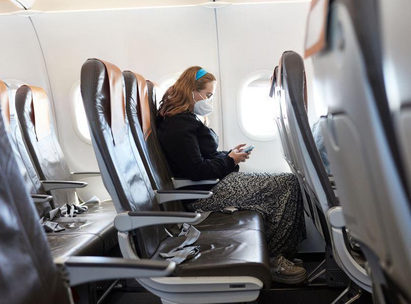 social distancing flight