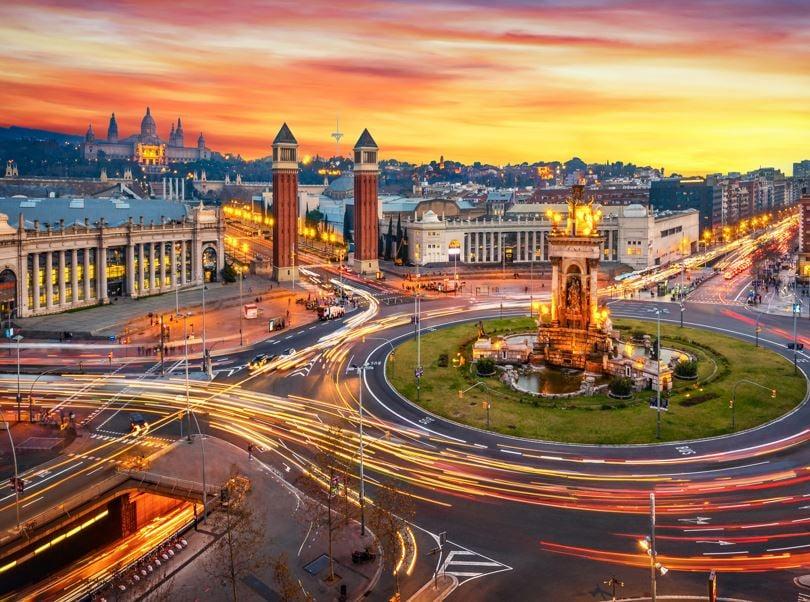 spain barcelona traffic