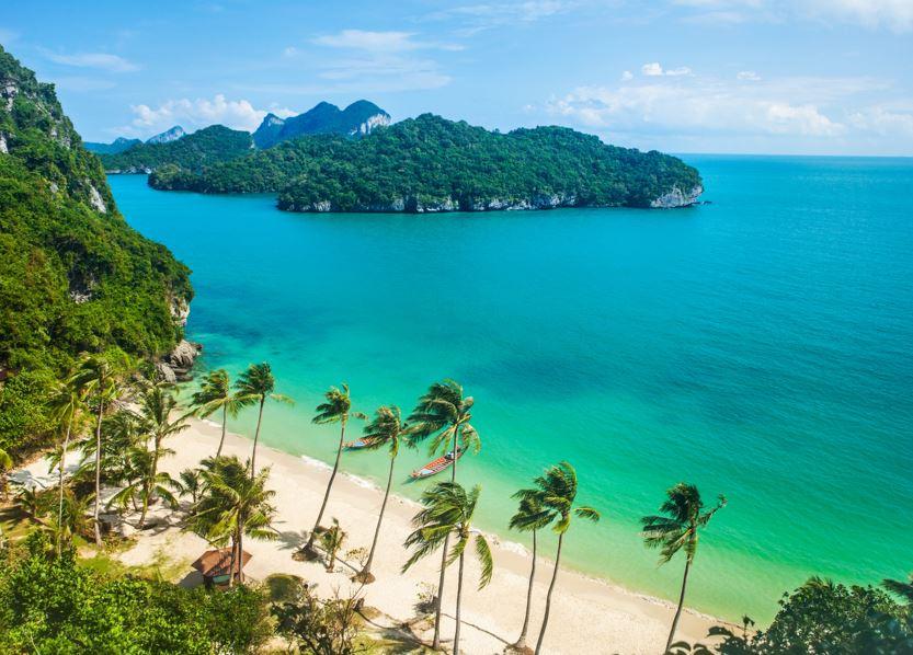 thailand beach island samui