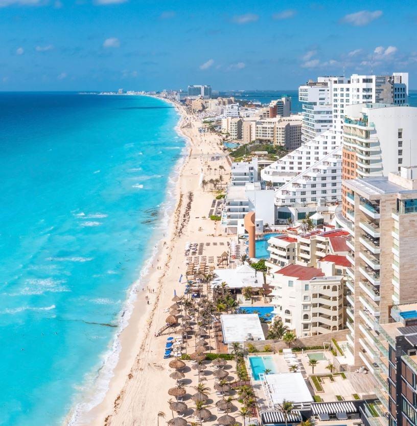 Cancun-Beachfront