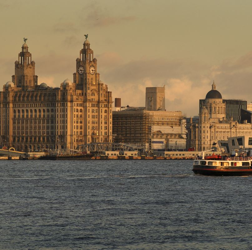 Liverpool and the Mersey