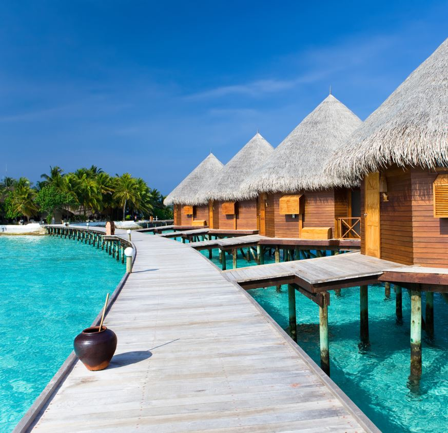 Maldives Over Water Bungalows