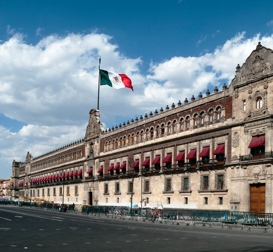 Mexico government building