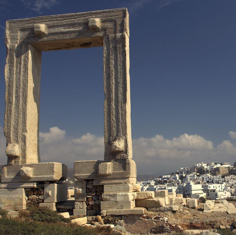 Πύλη Νάξου του Ναού του Απόλλωνα