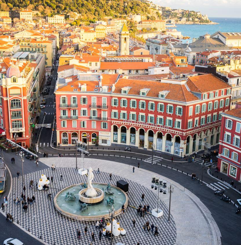 Square in Nice France