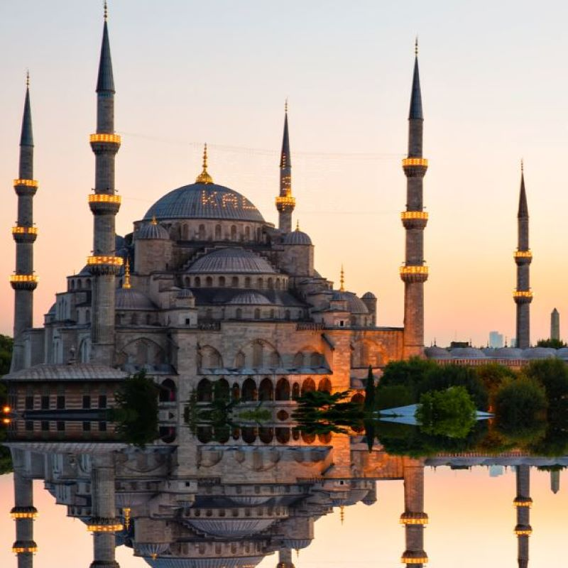 blue mosque hagia sofia