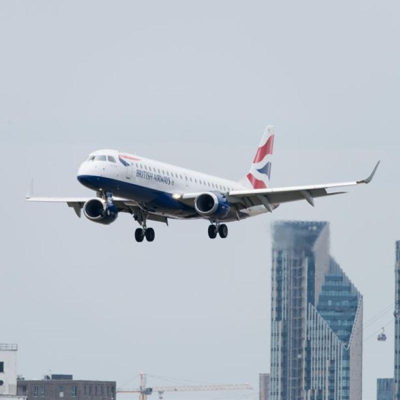 british airways in flight london