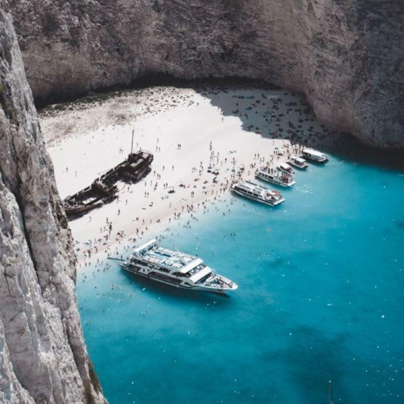 greece cove beach