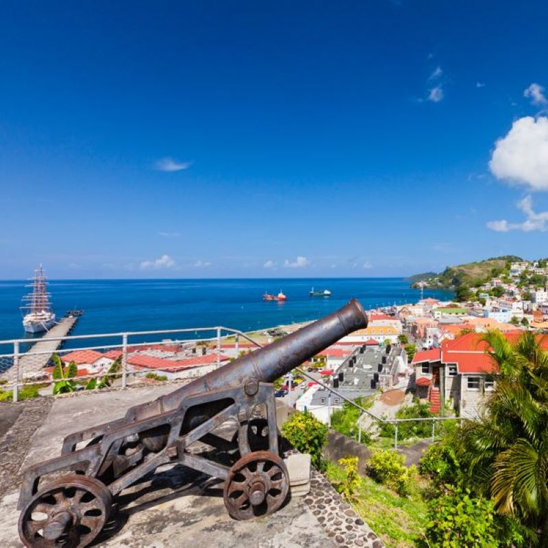 grenada cannon st georges