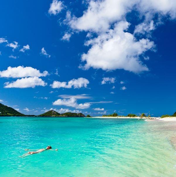 grenada sandy beach island