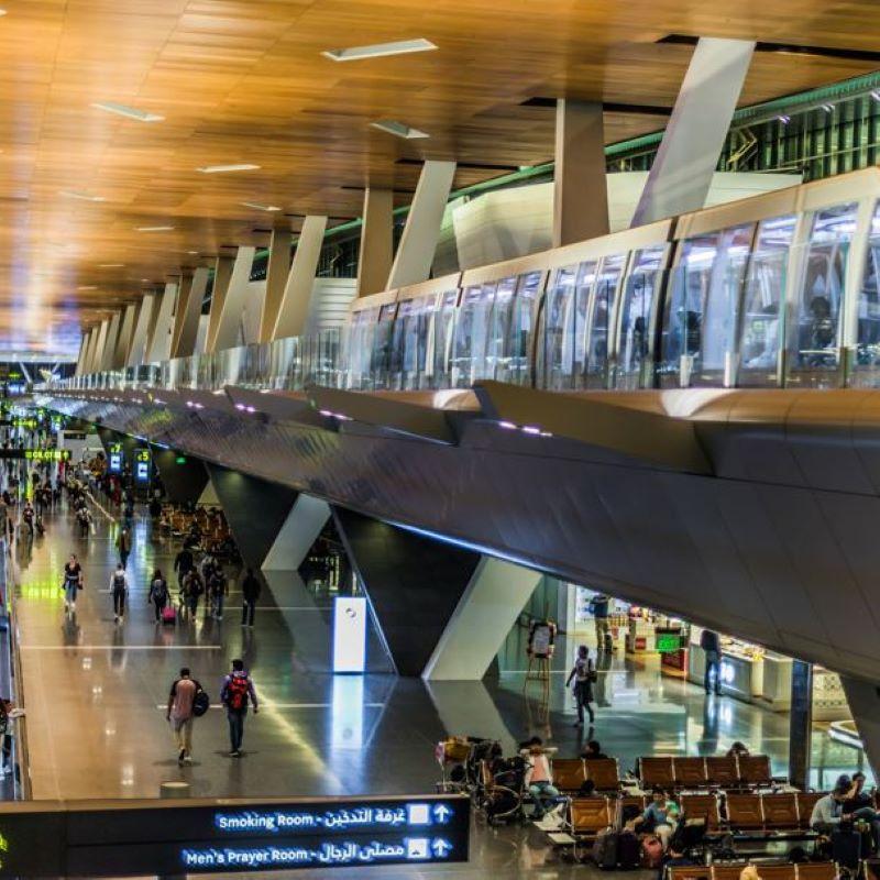 hamad international train concourse
