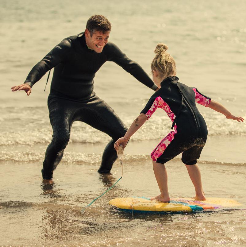 kid surf lesson
