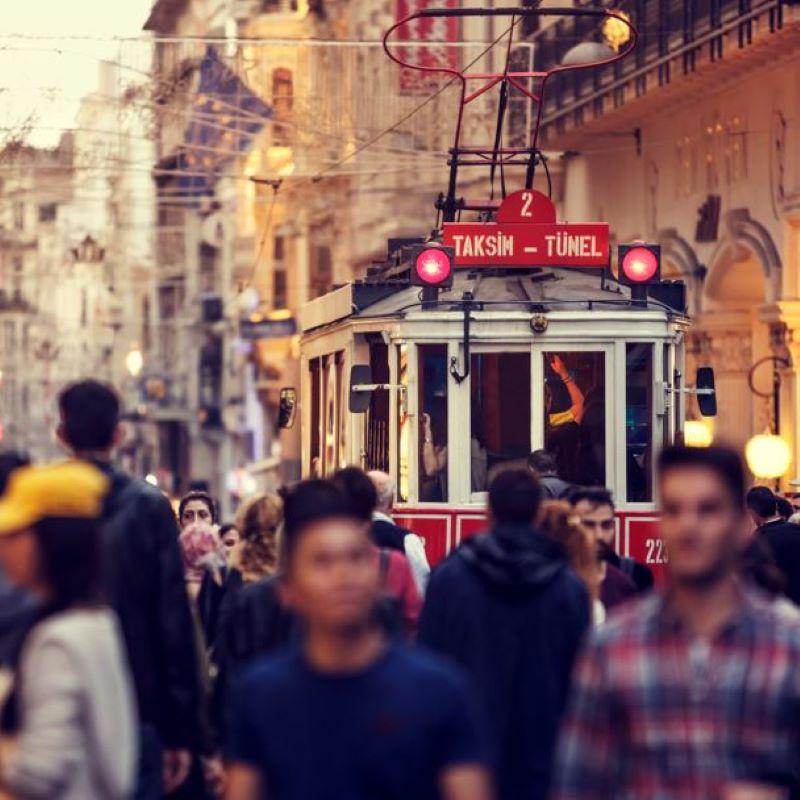 tram turkey istanbul