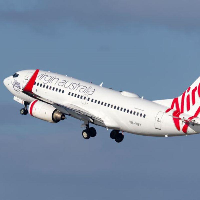 virgin australia take off