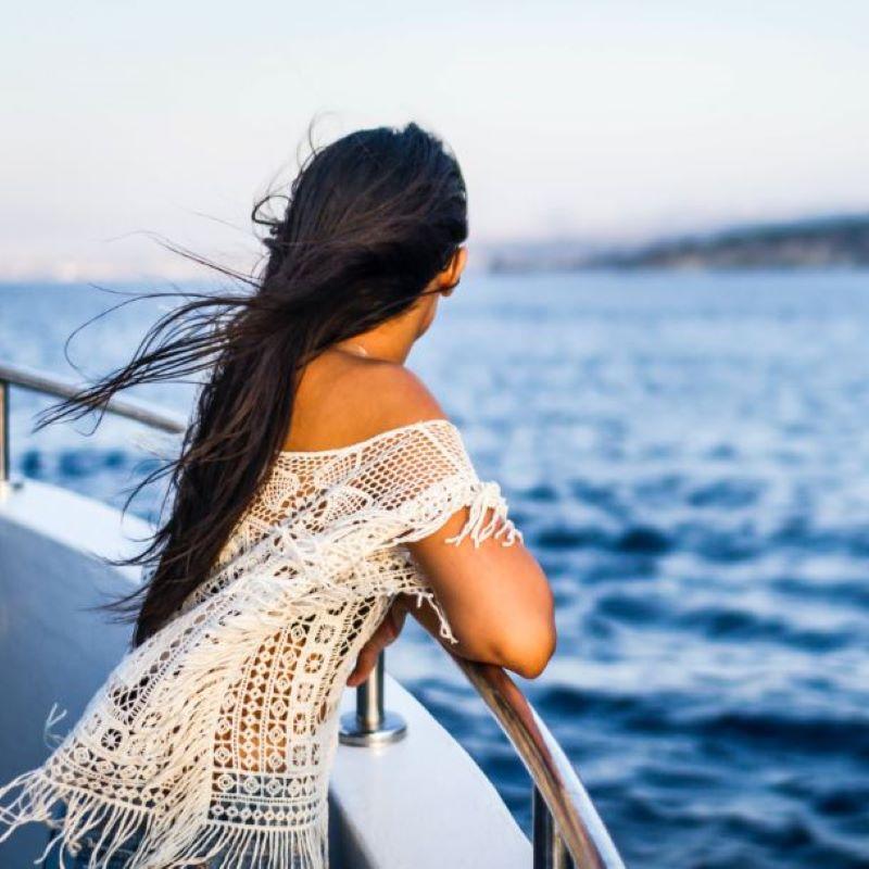woman cruise ship
